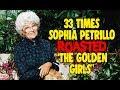 "33 Times Sophia Petrillo Roasted ""The Golden Girls"""
