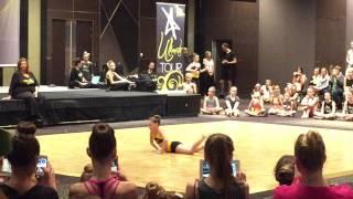 mackenzie ziegler performing at aldc sydney masterclass
