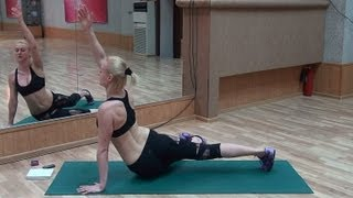 Упражнение для талии - утяжка от бедер до лопаток!(Всем привет! Сегодня у нас еще одно упражнение из нашей MagicOnклубной тренировки! Многофункциональное! С..., 2013-05-19T00:24:51.000Z)