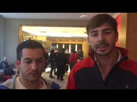 Socios por débito: Mauricio y Juan viajaron junto a la delegación y cuentan su experiencia