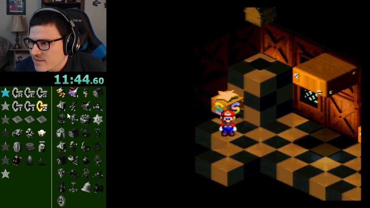 Super Mario RPG - Seven Star Hunt (Open randomizer) - full playthrough