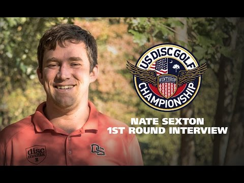 USDGC2015 First Round Interview - Nate Sexton