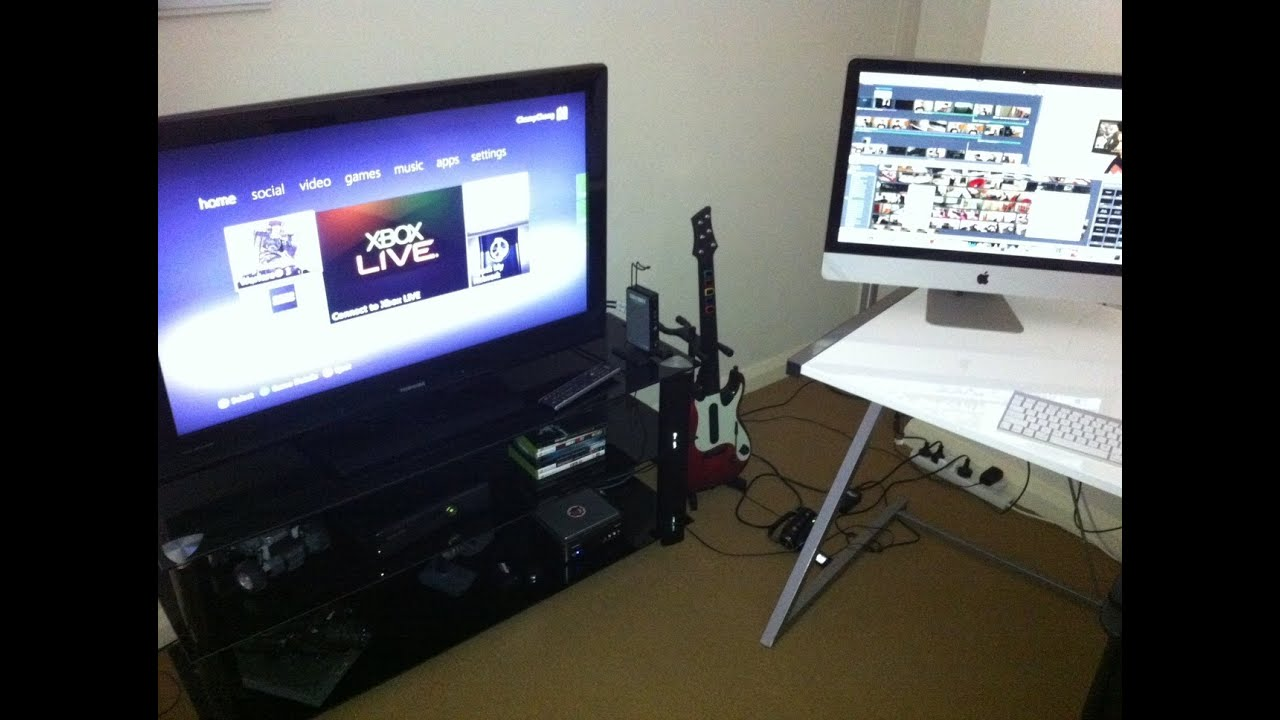 My Gaming Setup Apartment Tour Youtube