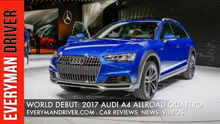 Audi A4 allroad quattro 2017 Videos