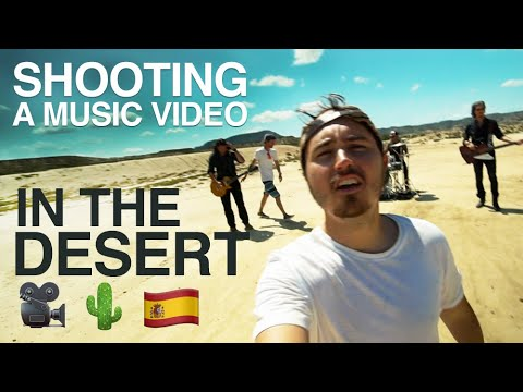SHOOTING A MUSIC VIDEO - IN THE DESERT 🎥🌵