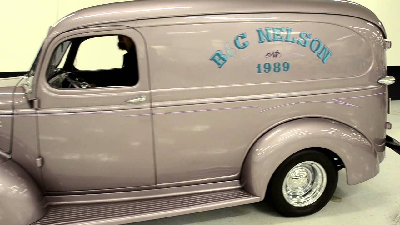 1946 CHEVROLET PANEL VAN Street Rod [ stock: F1096 ] - YouTube