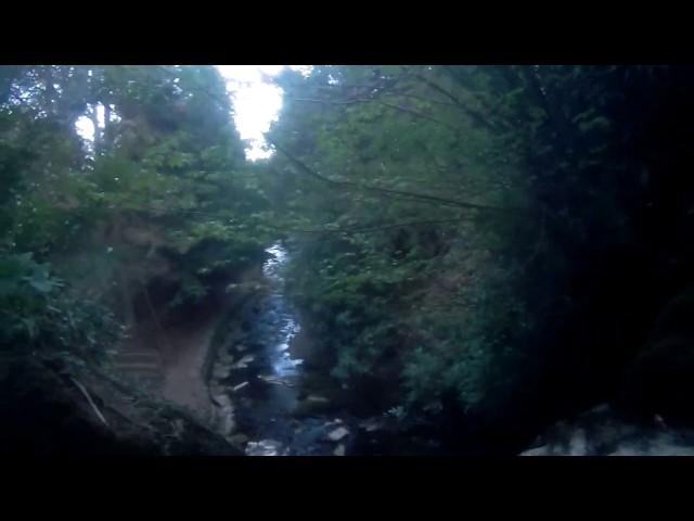 Wilton Lodge Park Dean Burn Waterfall Hawick - Underwater Camera 4K Quality - Clip 3