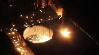 видео Гидроабразивная резка стали и сплавов