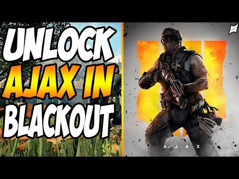 """How To Unlock RARE """"Ajax"""" Skin In Blackout   Black Ops 4 """"Blackout"""" How To #SoarRC"""