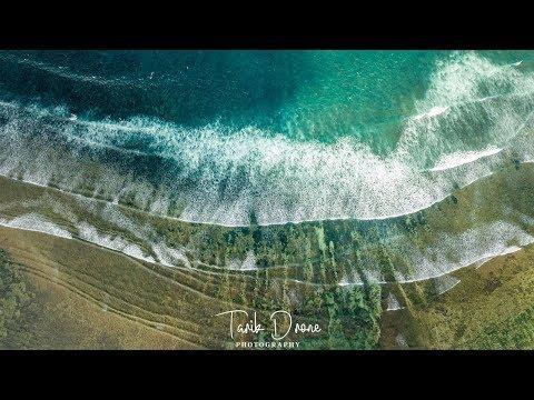 Kite Surfing - Sanur, Bali Indonesia 4K (Drone Mavic Pro)
