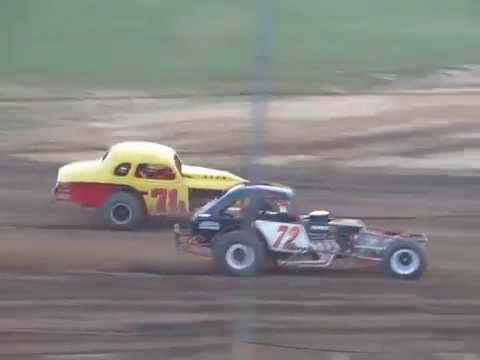 WESTERN PENNSYLVANIA VINTAGE DIRT MODIFIEDS AT MERCER SPEEDWAY