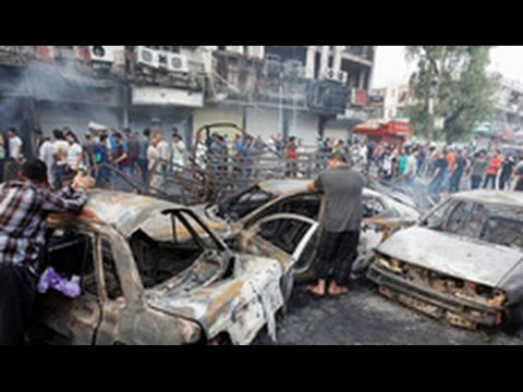 Death toll rises for suicide bombing in Baghdad