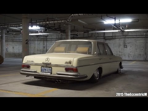 Rare And Abandoned Mercedes-Benz 300SEL 6.3 In Canada!