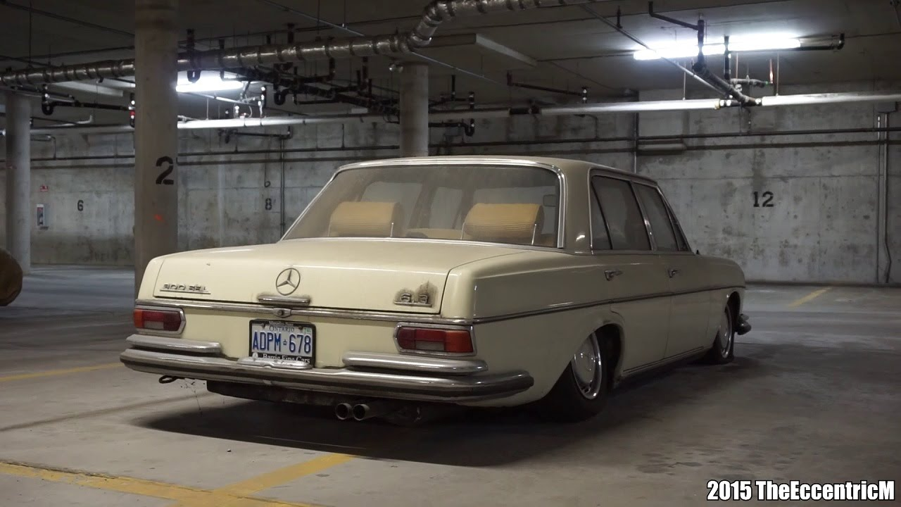 Rare and abandoned mercedes benz 300sel 6 3 in canada for Largest mercedes benz dealer in usa