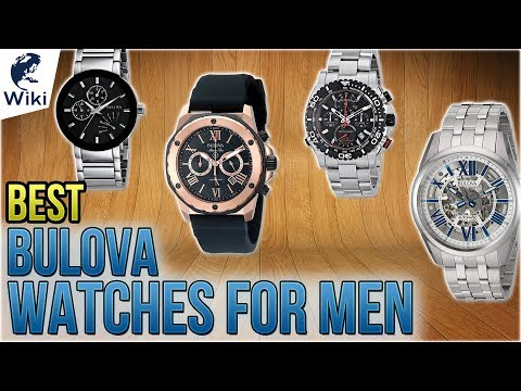 10 Best Bulova Watches For Men 2018