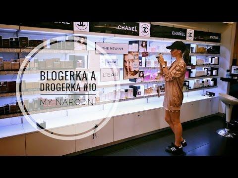 BLOGERKA A DROGERKA #10 | MY NÁRODNÍ | CHANEL, THIERRY MUGLER, THE BALM, CLARINS, CLINIQUE
