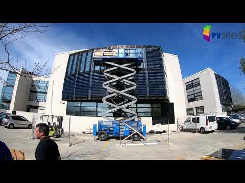 <p>Integración de Fotovoltaica en Edificación (BIPV): fachada fotovoltaica en TECNALIA (inglés)</p>