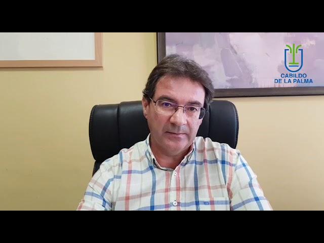 El Vicepresidente del cabildo analiza la situación de las ayudas al sector primario.