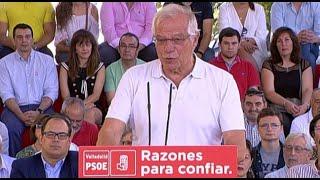 Borrell sobre tesis de Sánchez: Todo se debe a la