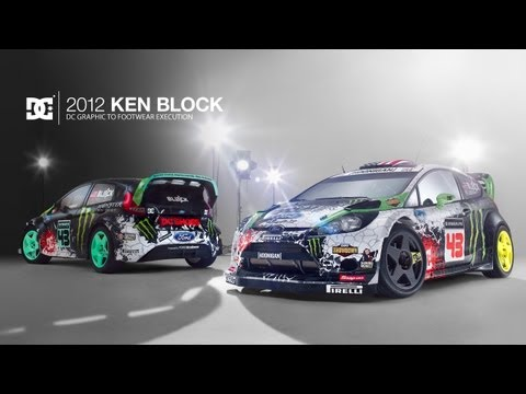 DC SHOES: 2012 KEN BLOCK DC GRAPHIC TO FOOTWEAR EXECUTION