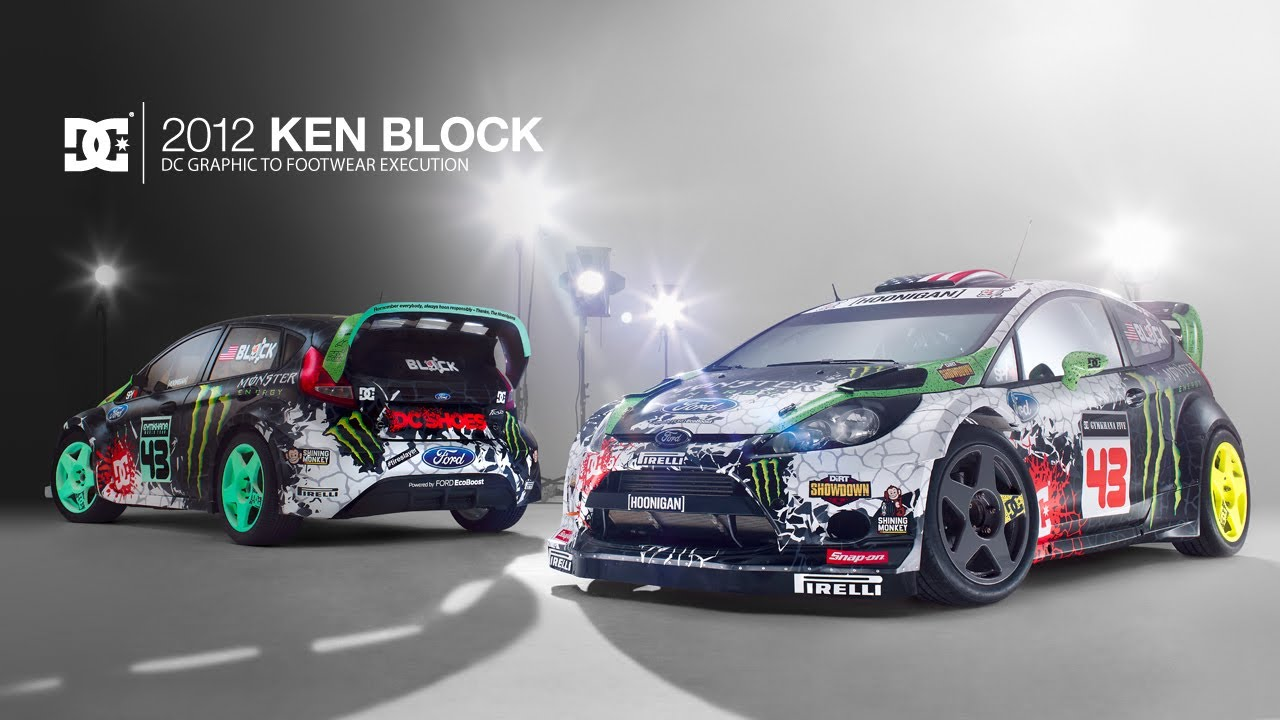 Dc Shoes 2012 Ken Block Dc Graphic To Footwear Execution