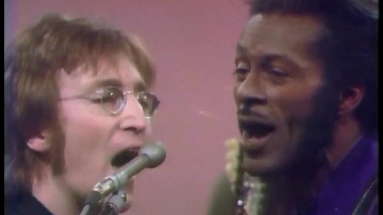 Chuck Berry & John Lennon (1972) HQ
