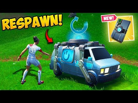 *NEW* RESPAWN VAN IS AMAZING! - Fortnite Funny Fails and WTF Moments! #523