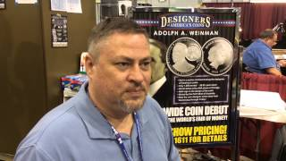 Charles D. Daughtrey: Designing a coin featuring Adolph A. Weinman