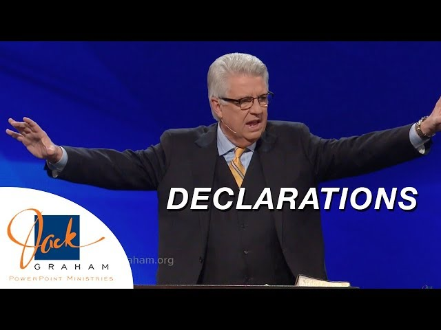 Declarations | PowerPoint with Dr. Jack Graham