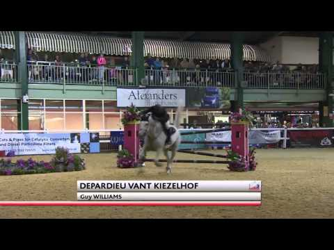 Showjumping - Guy Williams's Winning Round in the National Championship, SCOPE