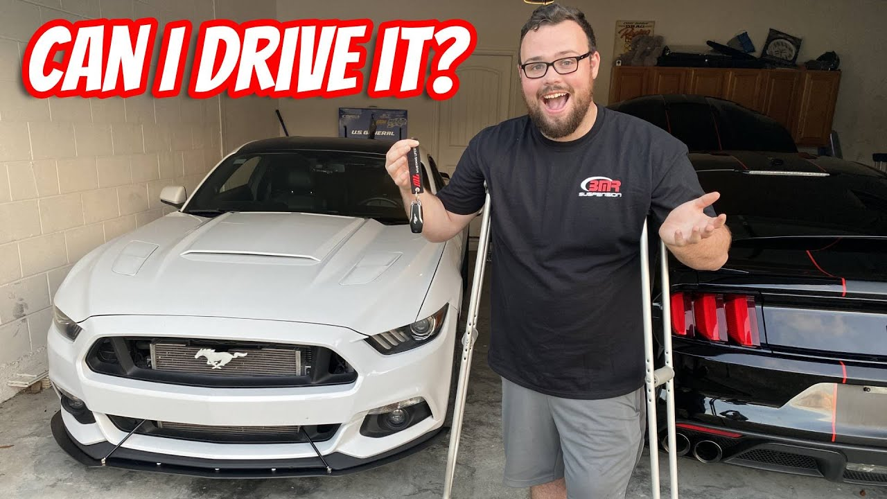 POV Attempting to Drive 800+ HP Mustang for the First time since my Injury