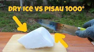 Dry Ice vs Pisau 1000° | Eksperimen dengan Dry Ice part 2 MP3