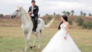 Романтичная свадебная прогулка