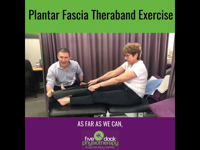 Are you troubled by heel pain caused by a plantar fascia injury