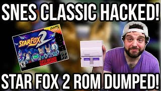 SNES CLASSIC HACKED! Star Fox 2 ROM DUMPED!   RGT 85