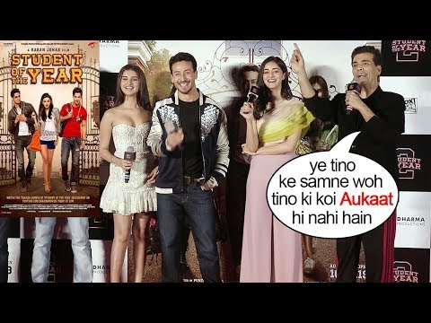Karan Johar Insults Alia Bhatt,Varun Dhawan & Siddharth Malhotra's Student of The Year Part 1 Mp3