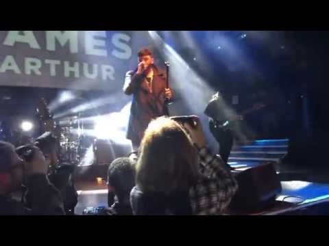 James Arthur Back From The Edge Live