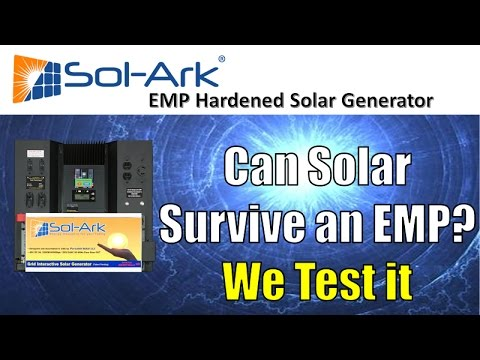 We EMP Solar Panels, iPhone, PC, & more!