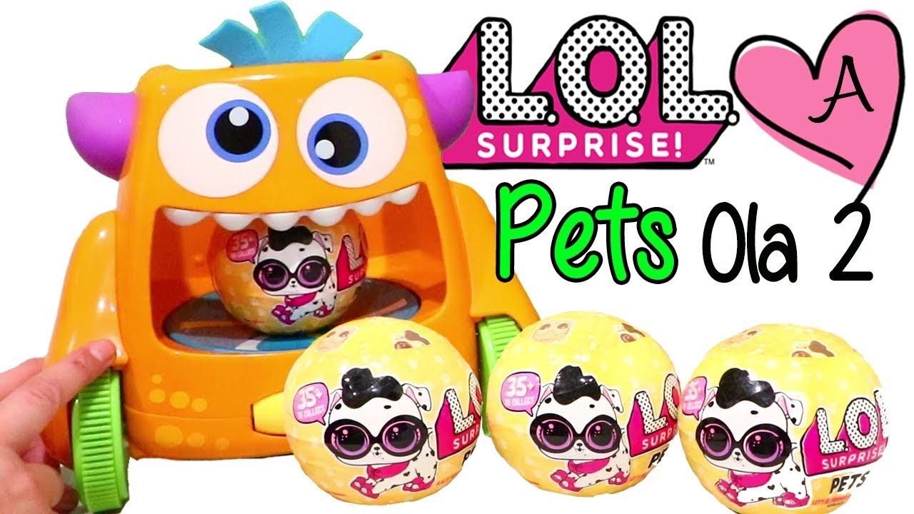 Download Monstruo abriendo LOL Pets Ola 2 COMPLETA | Jugando muñecas y juguetes con Andre