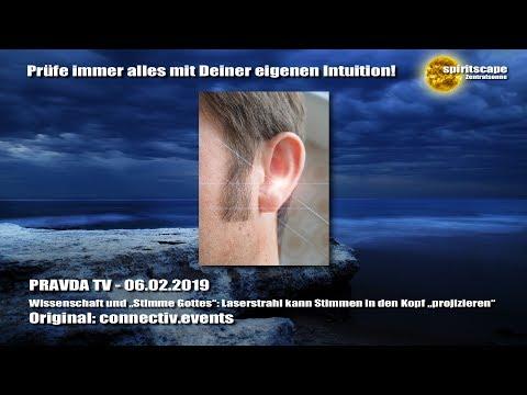"""Wissenschaft und """"Stimme Gottes"""": Laserstrahl kann Stimmen in den Kopf """"projizieren"""" + Kommentar"""