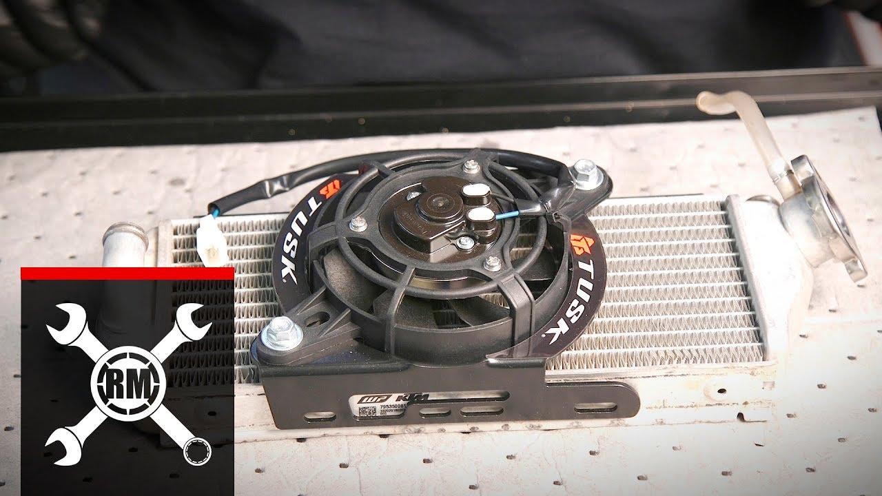Tusk Digital Radiator Fan Kit Install 17 Ktm Husqvarna