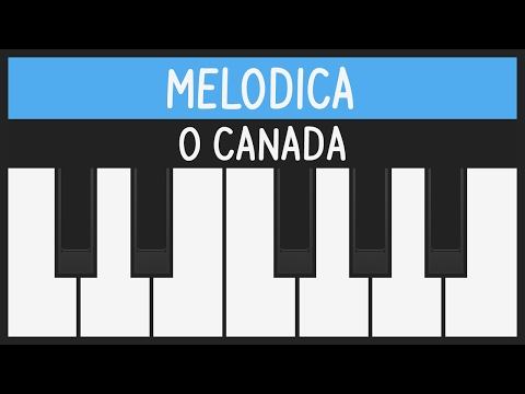How To Play O Canada - National Anthem - Melodica Tutorial