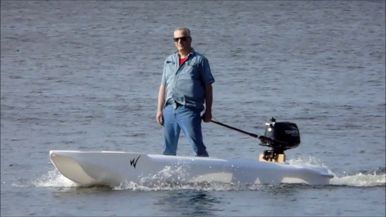 Testing The Wavewalk S4 Skiff Kayak Outboard Motor And