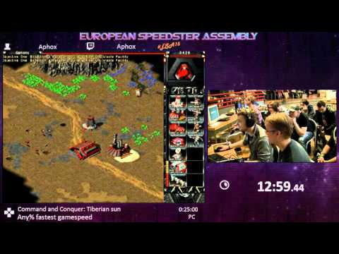 #ESA15Yellow - Command and Conquer: Tiberian sun [ Any% fastest gamespeed ] Speedrun by Aphox