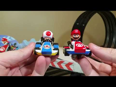 Carrera Go Mario Kart 8 and Cars race track blogger review