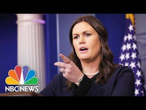 White House Press Briefing- January 17, 2018 (Full) | NBC News