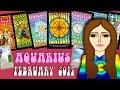 AQUARIUS  February 2017 Tarot psychic reading forecast predictions free