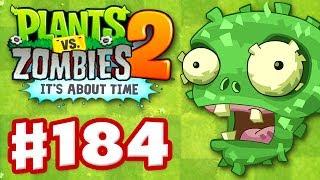 Plants vs. Zombies 2: It's About Time - Gameplay Walkthrough Part 184 - Birthday Senor Piñata (iOS)