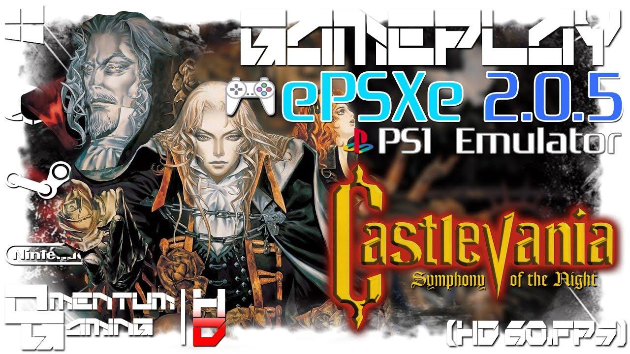 castlevania symphony of the night epsxe 2.0.5