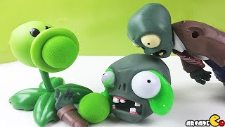 Plants vs Zombies Exploding Zombie Peashooter Popper Zombie OOze